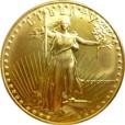 1/2 oz アメリカンイーグル金貨|表