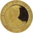 バルセロナ記念金貨10000ペセタ金貨|裏