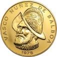 100バルボア金貨|表