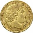 10フラン金貨(ケレス)|表