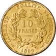 10フラン金貨(ケレス)|裏