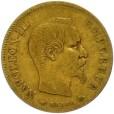 10フラン ナポレオン金貨|表