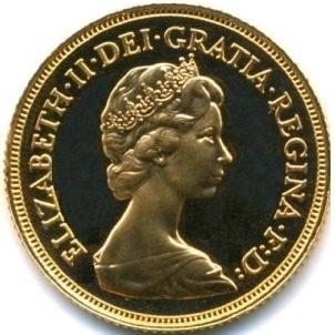ソブリン金貨 Sovereign|表