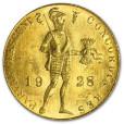 オランダ 1ダカット金貨|表