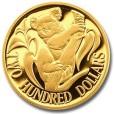 コアラ金貨 200ドル|表