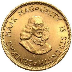 南アフリカ共和国 2ランド金貨|表
