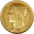 40フラン金貨|表