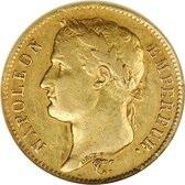 フランス帝国 1808年 ナポレオン1世 有冠 40フラン金貨|表