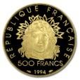オリンピック100周年500フラン金貨|表