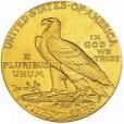 5ドル インディアン金貨|裏
