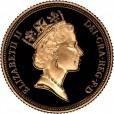 Half Sovereign 1/2ソブリン金貨|表