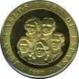 バルセロナ五輪記念80000ペセタ金貨|裏