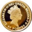 1/4 oz ブリタニア金貨|表
