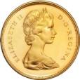 カナダ 20ドル金貨|表