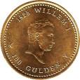 オランダ 100グルデン金貨|裏