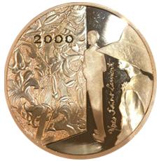 YSL イヴ・サンローラン 500フラン金貨|裏