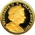 ハリーポッター金貨1/25クラウン (ノーバート)|表