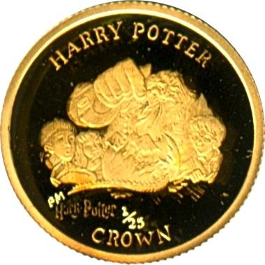 ハリーポッター金貨1/25クラウン (ノーバート)|裏