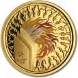 シドニー五輪記念 100ドル 金貨|表