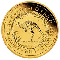 カンガルー金貨 1Kg|表