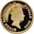 ツバルホース金貨 1/25oz(オンス)|表