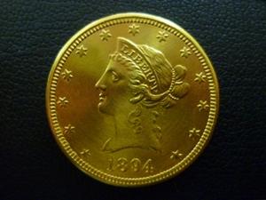 リバティ金貨 10ドル