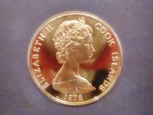 アメリカ合衆国建国200年100ドル金貨 表面