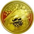長野五輪冬季大会記念金貨1万円スキージャンプ|表