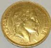 100フラン金貨