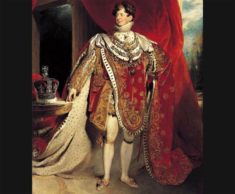 ジョージ4世肖像画