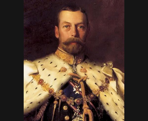 ジョージ5世肖像画