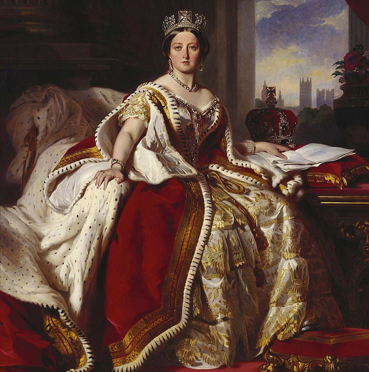 ヴィクトリア女王肖像画